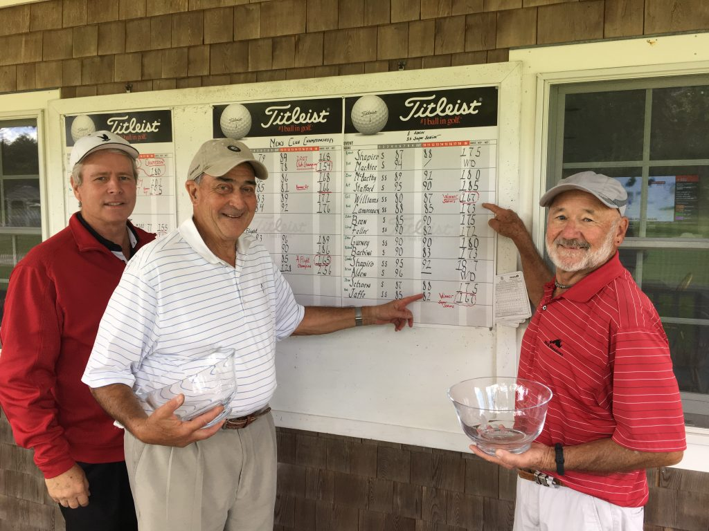 Gil Williams & Bob Jaffe - Super Senior Winners