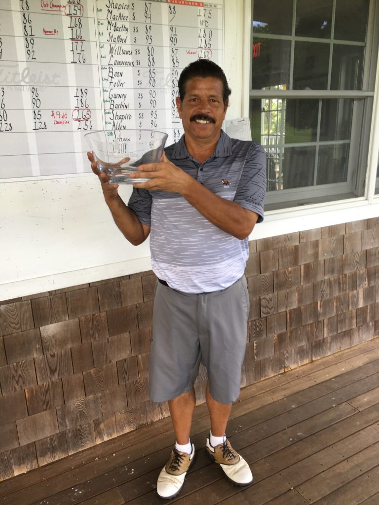 Lenny Vanderhoop - 2017 Mens Club Champion