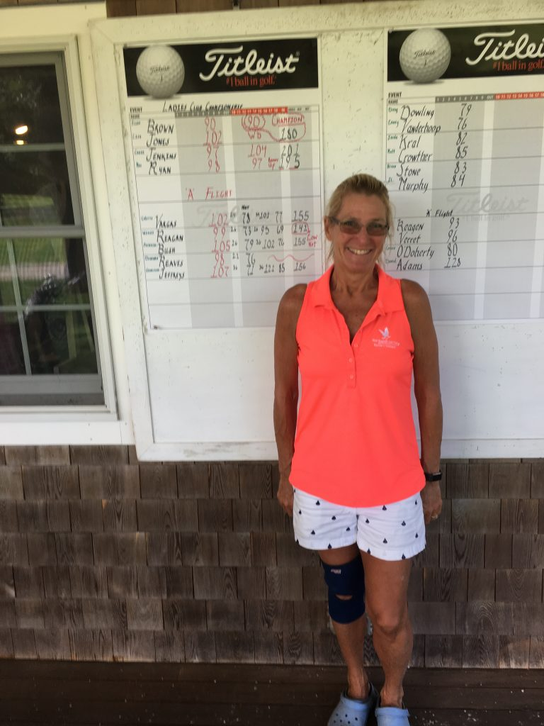 Wendy Reagan 2017 Low Net Winner