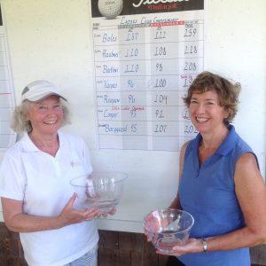 Joyce Cooper, Champion Colette Vargas, Runner-Up